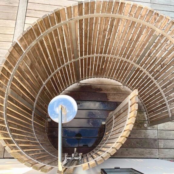 Nordic Seashell udendørs bruser Outdoor Shower konkylie april 2021